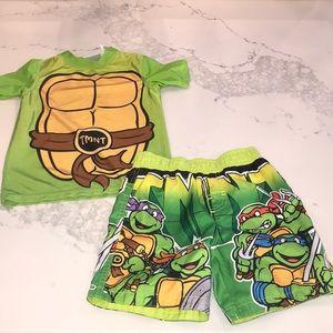 Teenage Mutant Ninja Turtle swim set